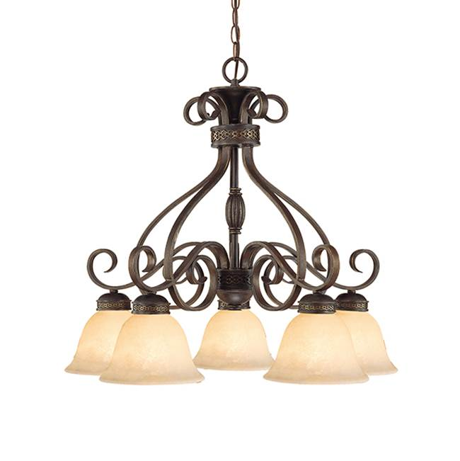 Millennium Lighting Down Chandeliers Chandeliers item 7175-BZ/G