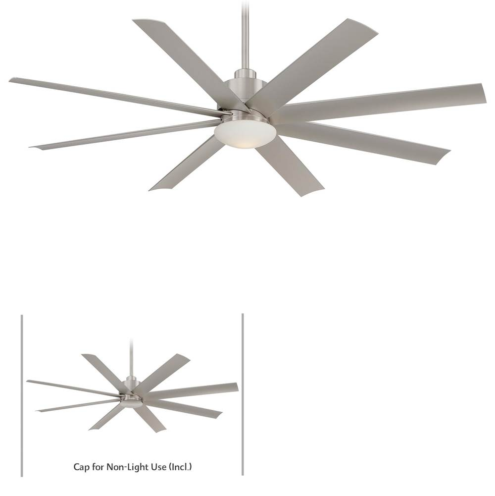 Minka Aire Outdoor Ceiling Fans Ceiling Fans item F888L-BNW