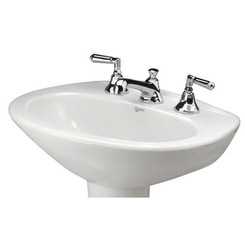 Mansfield Plumbing Vessel Only Pedestal Bathroom Sinks item 272410570