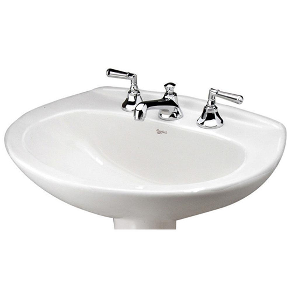 Mansfield Plumbing Vessel Only Pedestal Bathroom Sinks item 290410070