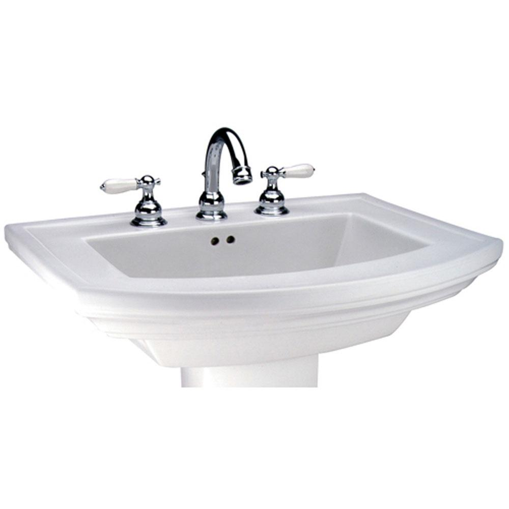 Mansfield Plumbing Vessel Only Pedestal Bathroom Sinks item 328814300