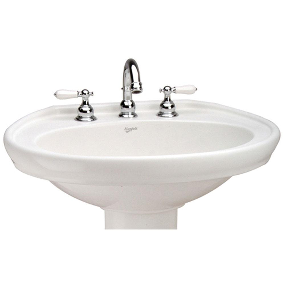 Mansfield Plumbing Vessel Only Pedestal Bathroom Sinks item 338810000