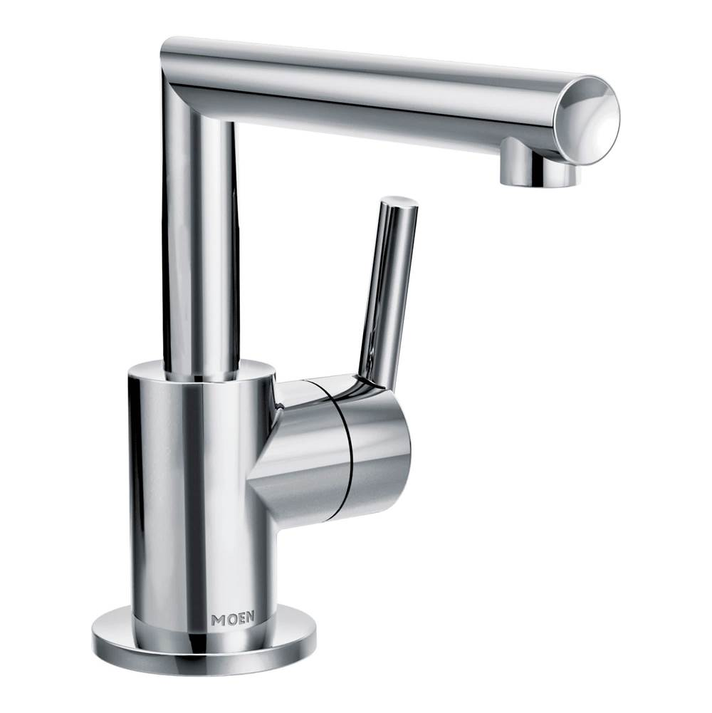 Moen Bathroom Sink Faucets Single Hole Chromes | Kitchens and Baths ...