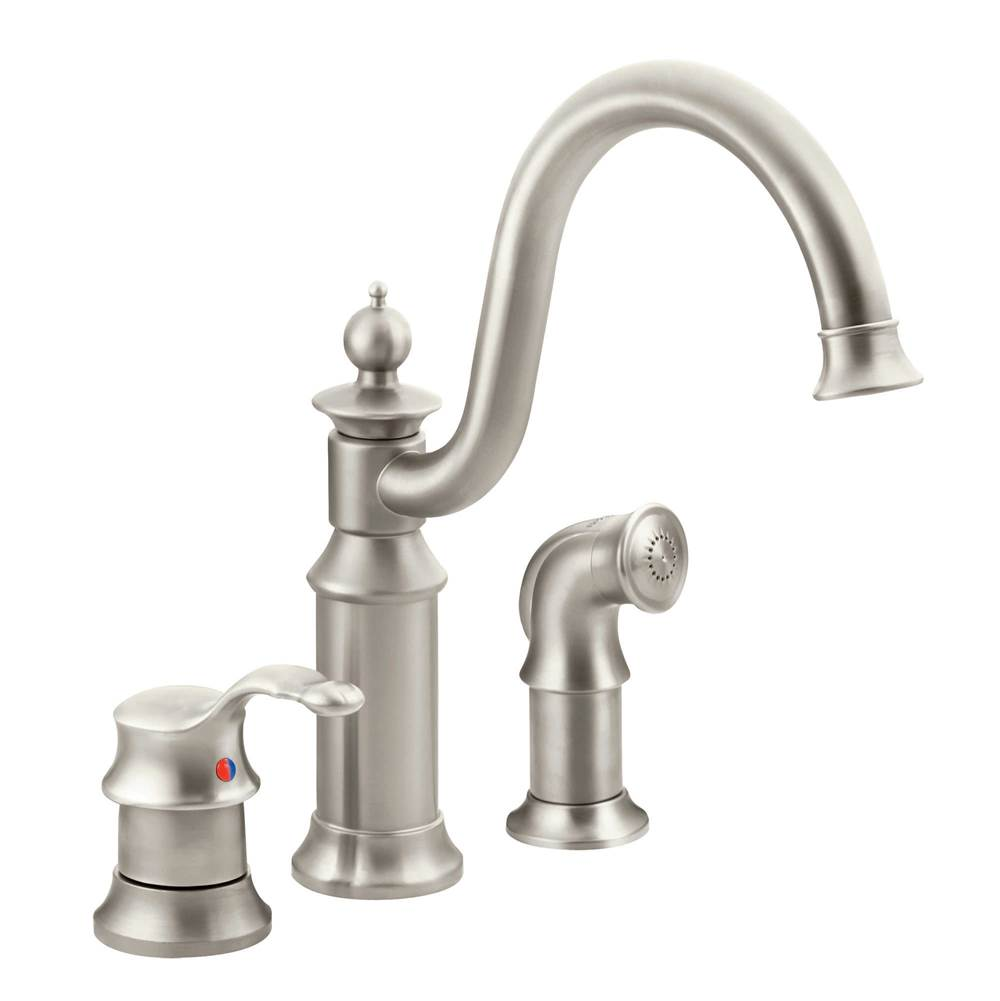Moen Faucets Pewter | Kitchens and Baths by Briggs - Grand-Island ...