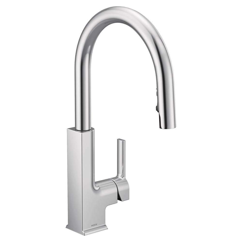 Moen Monticello Kitchen Faucet Moen Faucets Kitchens And Baths By Briggs Grand Island Lenexa