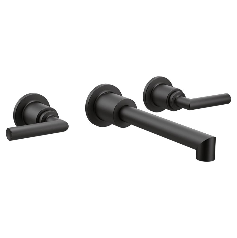 Moen Wall Mounted Bathroom Sink Faucets item TS43003BL