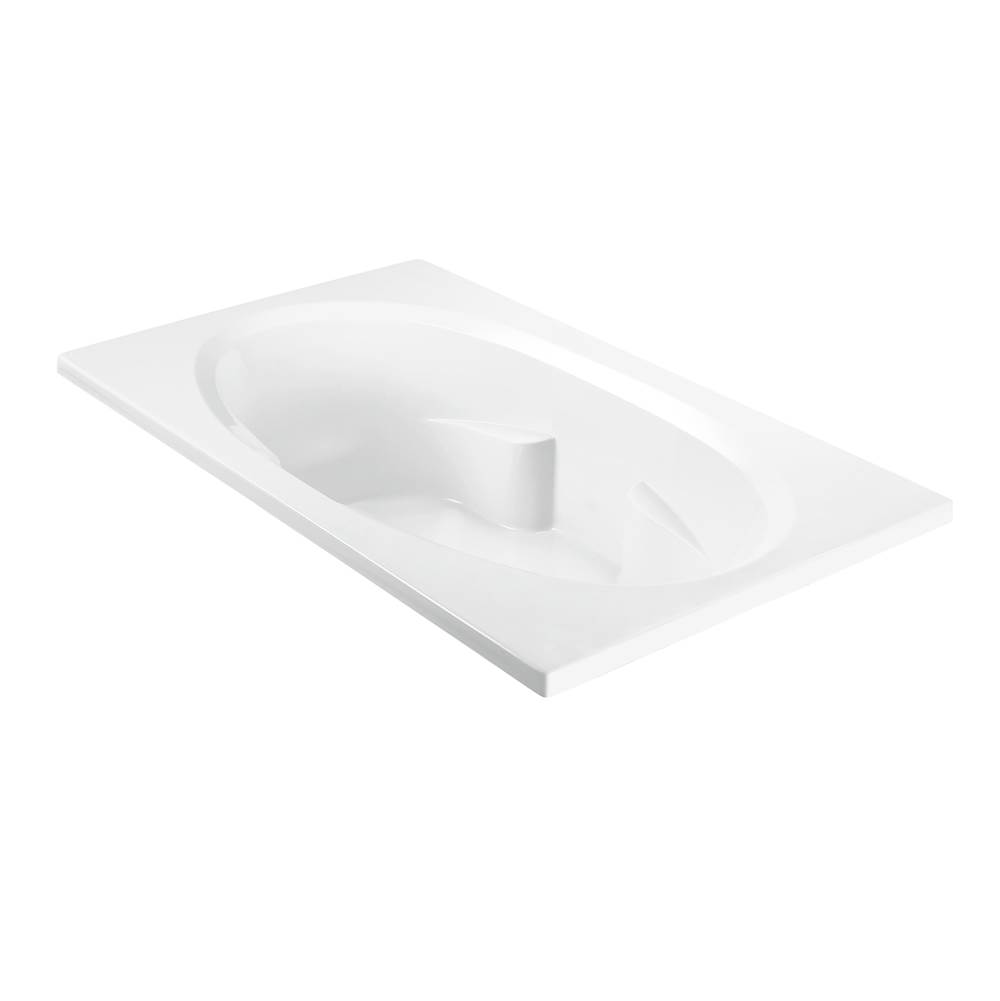 MTI Baths Drop In Whirlpool Bathtubs item P1U-WH