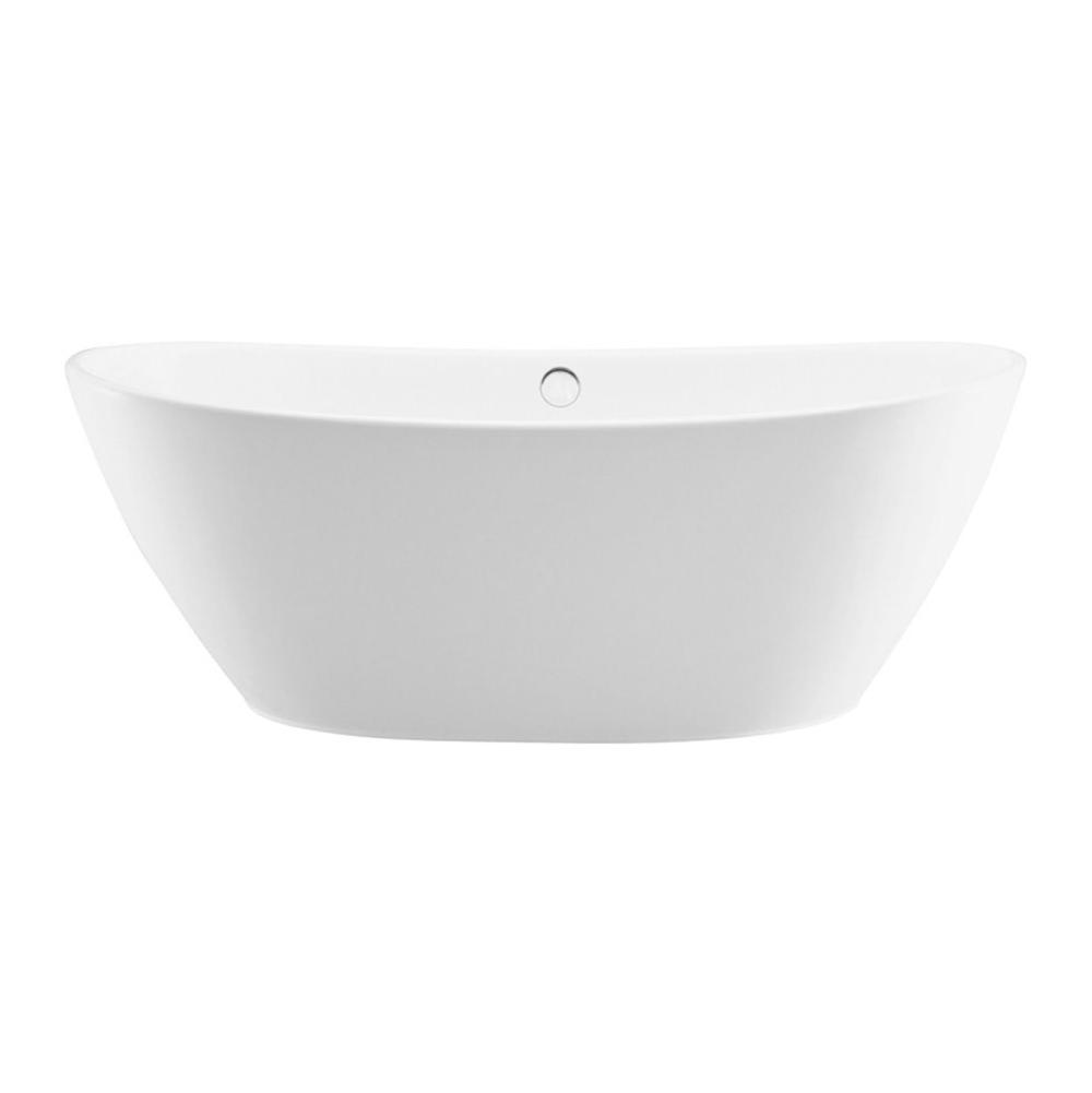 MTI Baths Free Standing Soaking Tubs item S128+BASE-WHMT