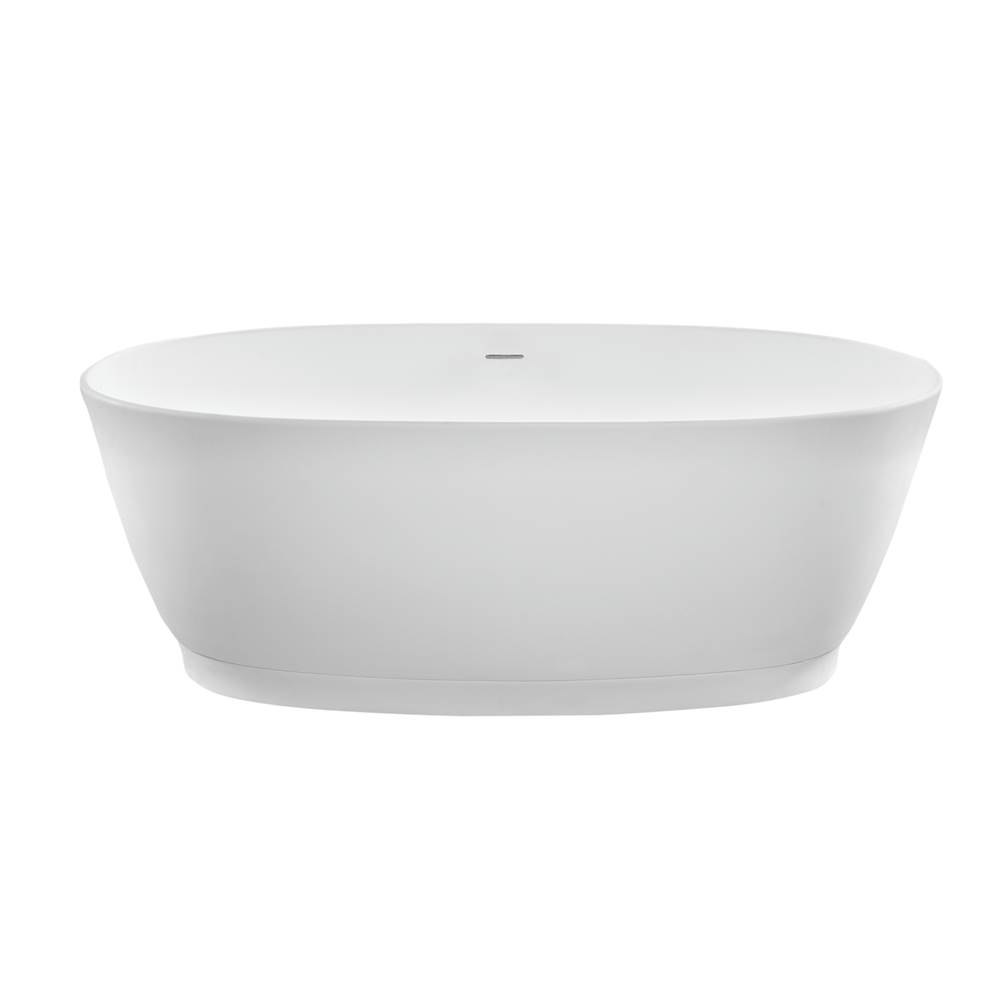 MTI Baths Free Standing Soaking Tubs item S140-WH-MT