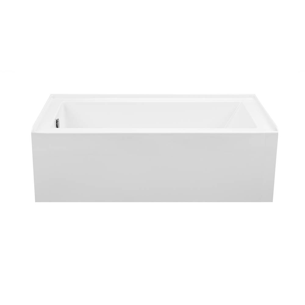 MTI Baths Three Wall Alcove Whirlpool Bathtubs item P152-WH-LH