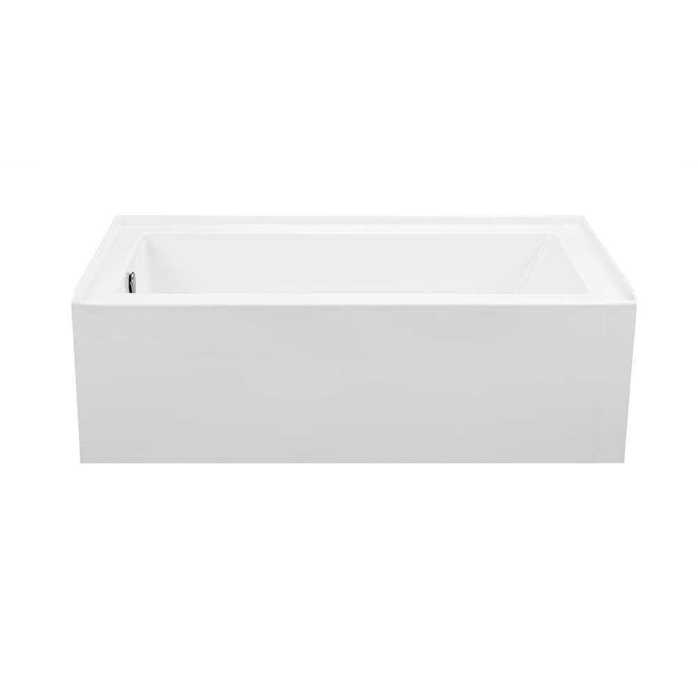 MTI Baths Three Wall Alcove Whirlpool Bathtubs item P153U-AL-LH
