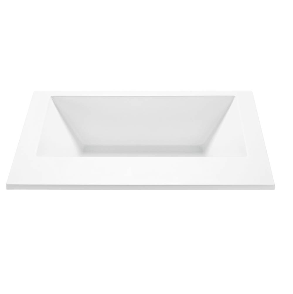 MTI Baths Undermount Air Bathtubs item AST175-AL-UM