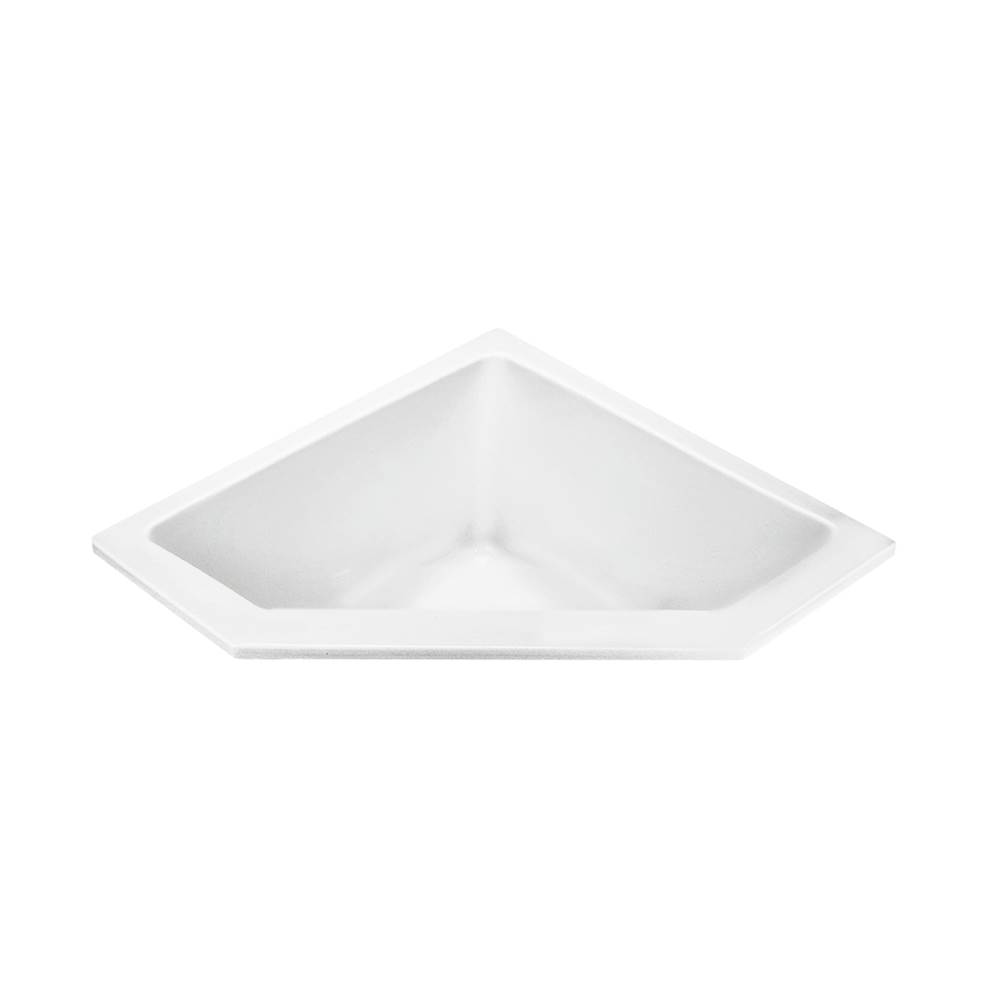MTI Baths Undermount Air Bathtubs item AST90-WH-UM