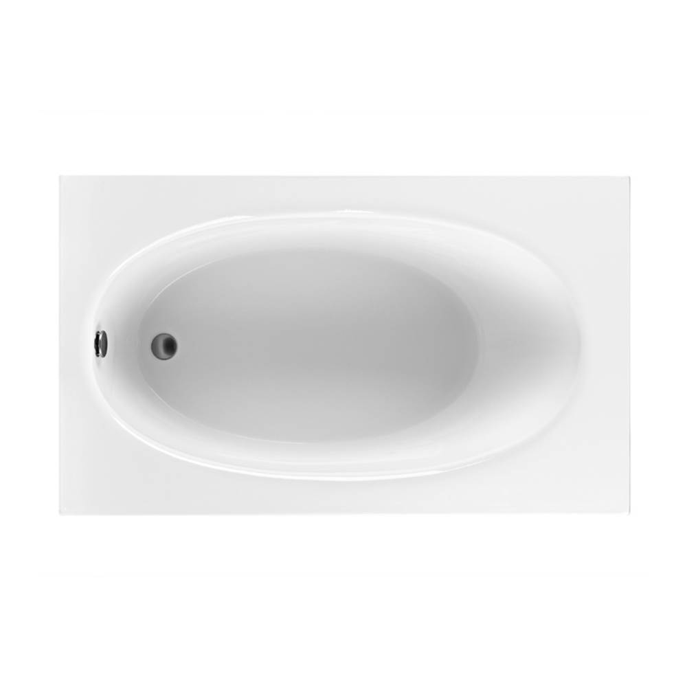 MTI Baths Drop In Soaking Tubs item MBSRO6036E-WH
