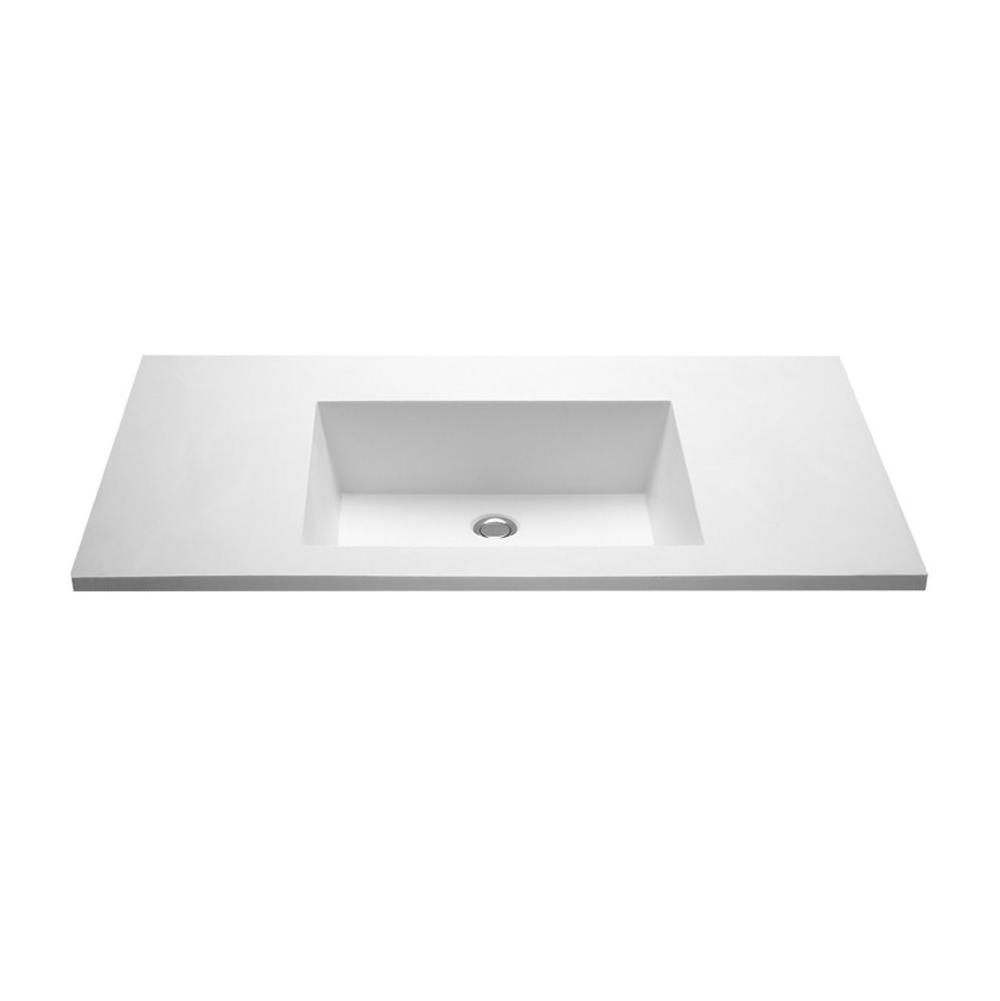 MTI Baths Vanity Tops Vanities item MTCS800361WHMT