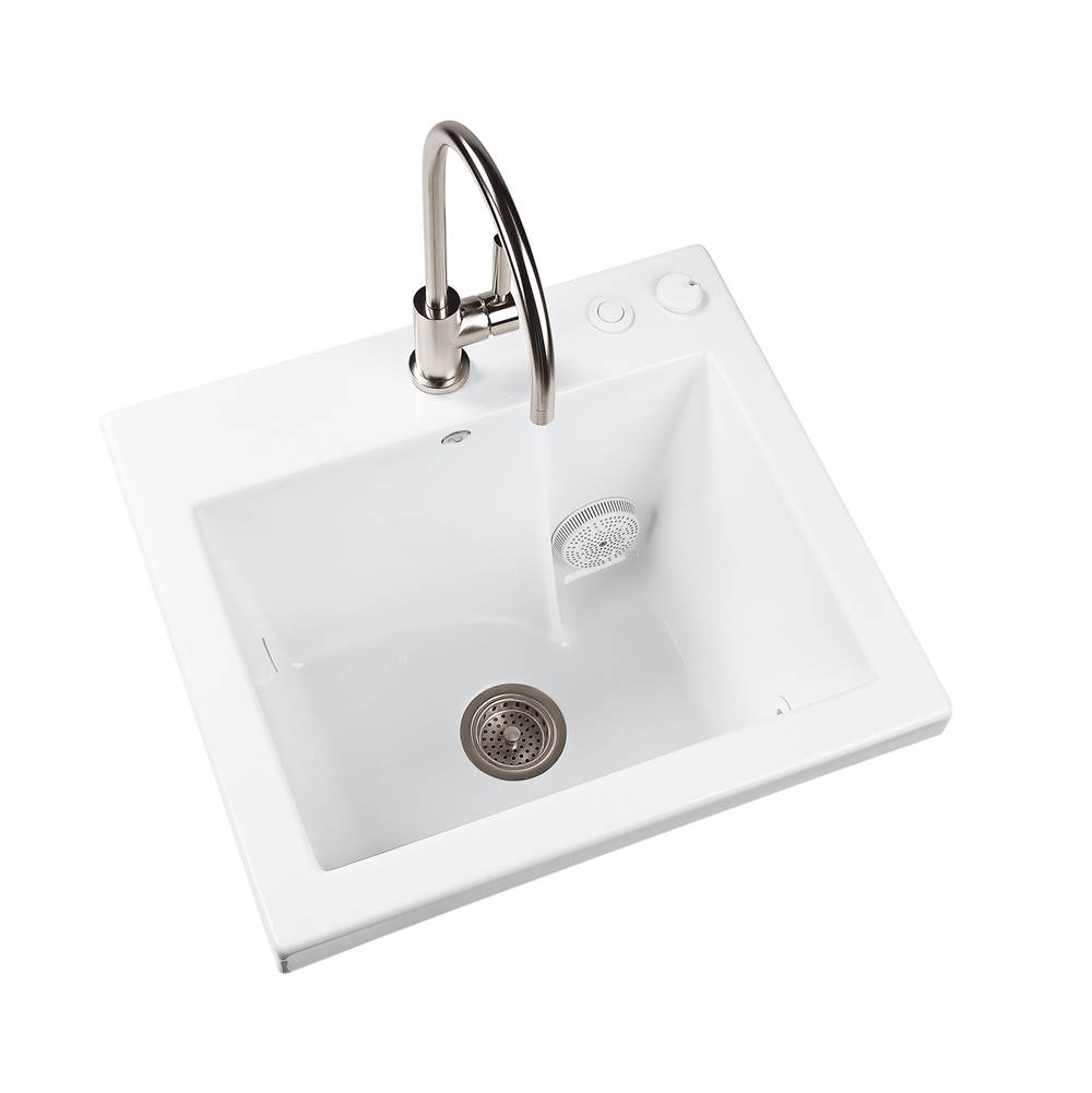 MTI Baths Drop In Laundry And Utility Sinks item MTLS120J-BI-DI