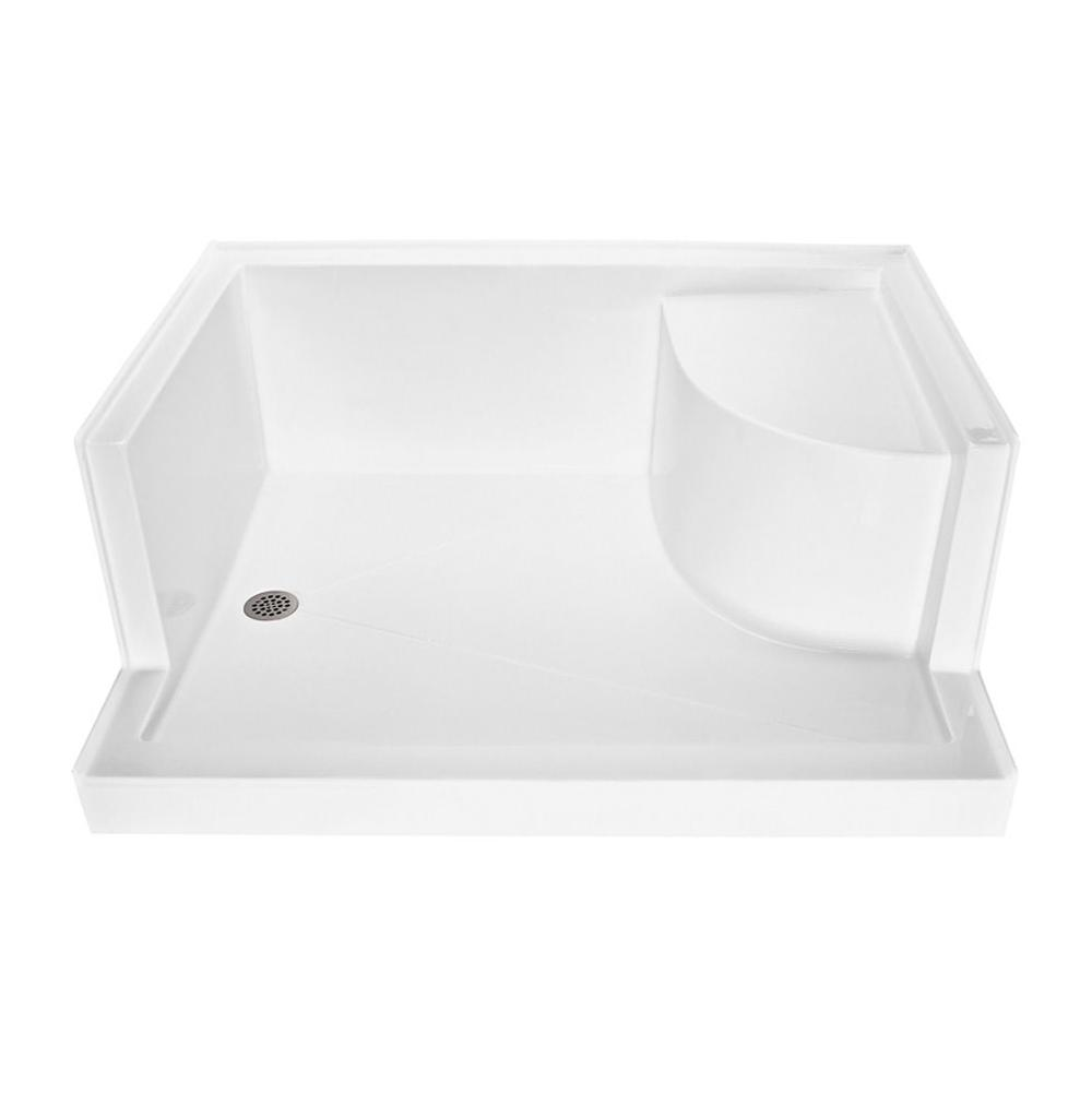 MTI Baths  Shower Bases item SB6048SEATALRH