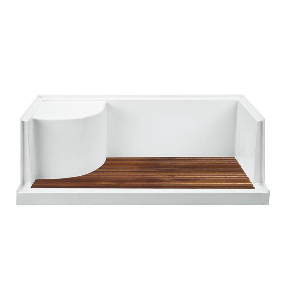 MTI Baths  Shower Bases item TK-6030SEATED
