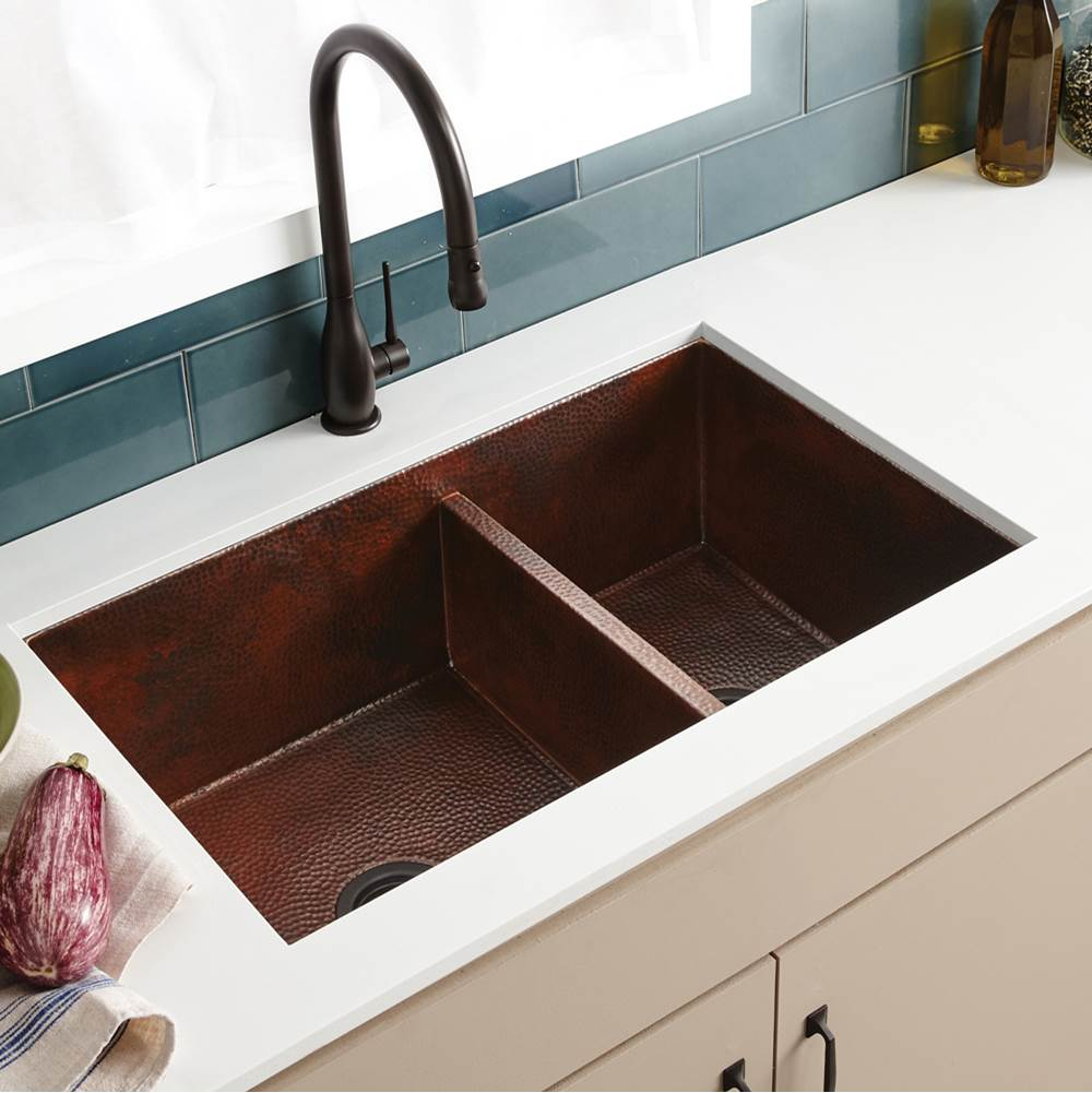 trails v cocina copper bistro native kitchen sink