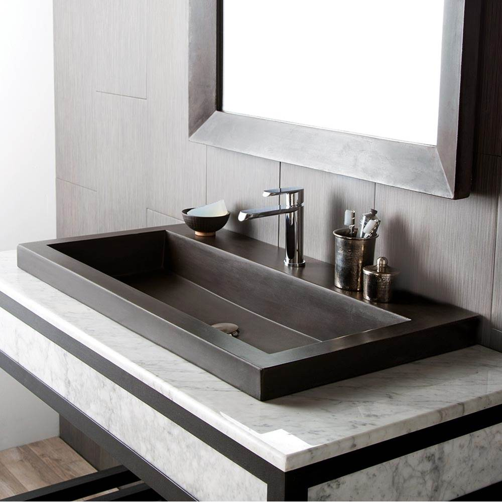 Native Trails Drop In Bathroom Sinks item NSL3619-S