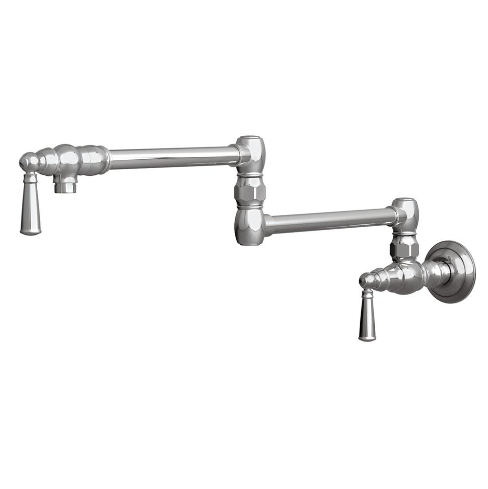 Newport Brass Wall Mount Pot Filler Faucets item 2470-5503/VB