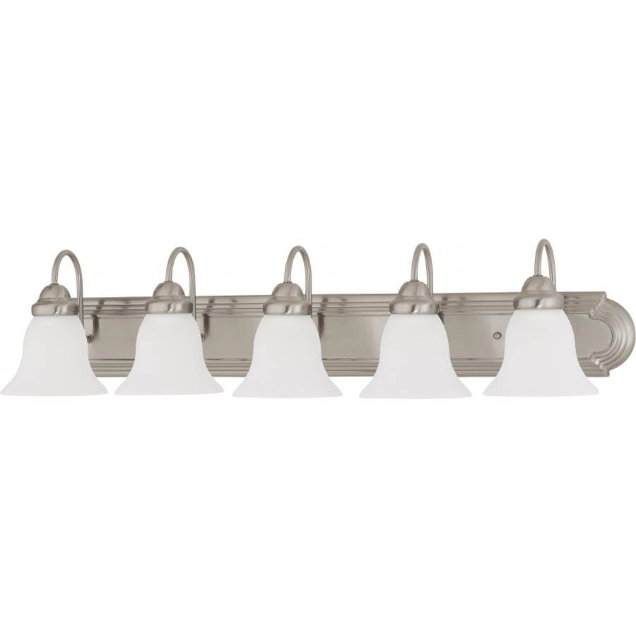 Nuvo Five Or More Vanity Bathroom Lights item 60/3282