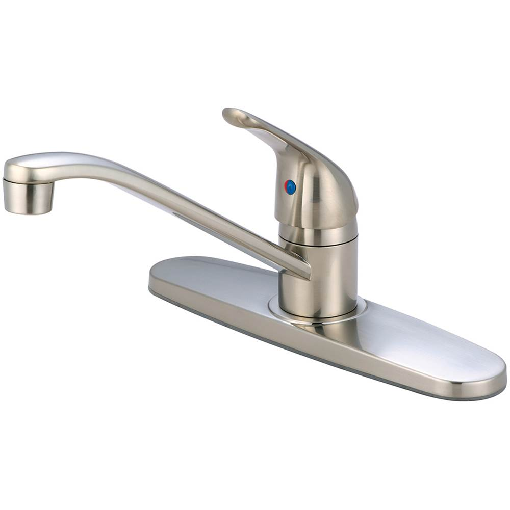 Olympia Deck Mount Kitchen Faucets item K-4160B-BN