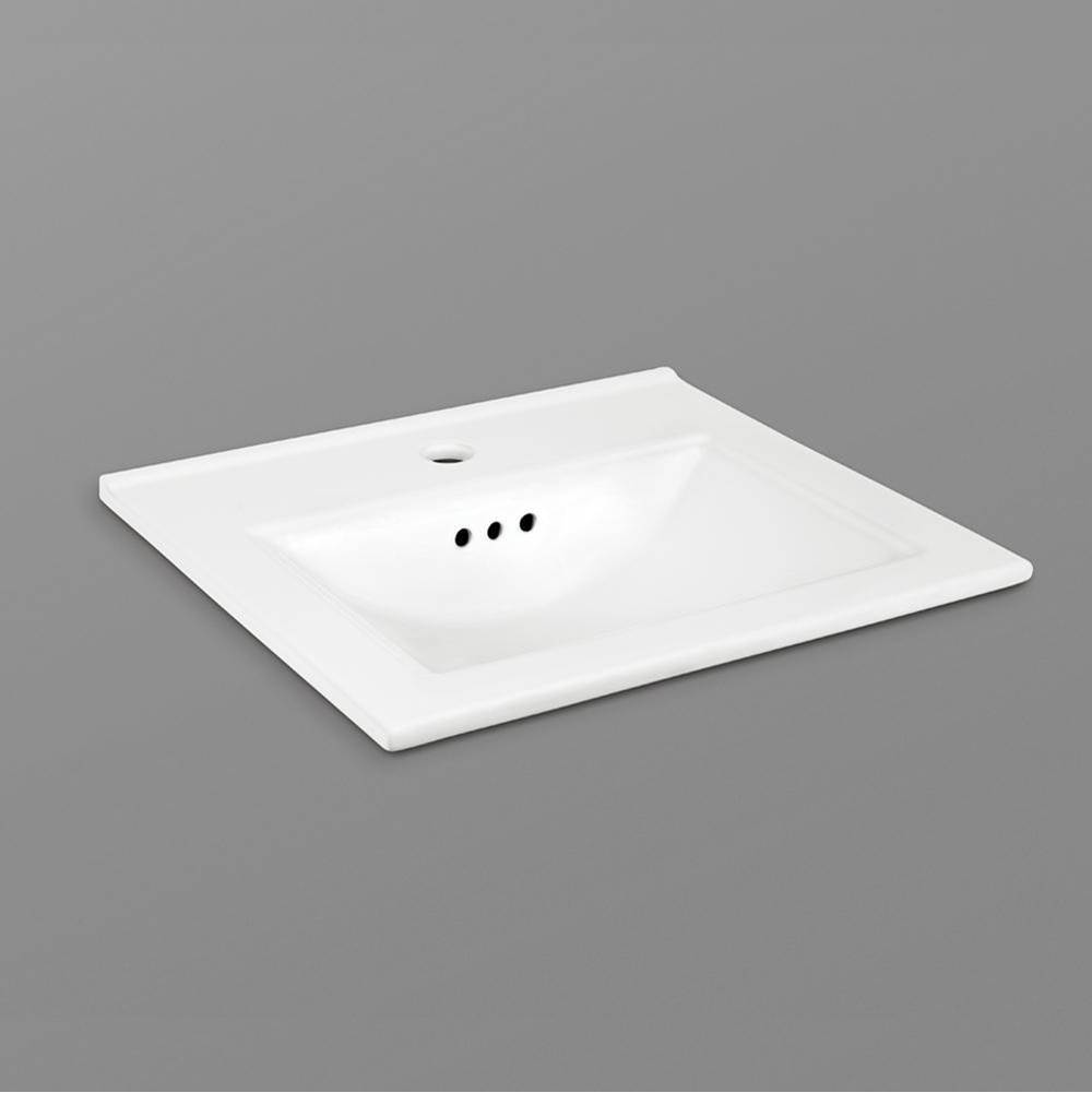Ronbow Undermount Bathroom Sinks item 200475-1-WH