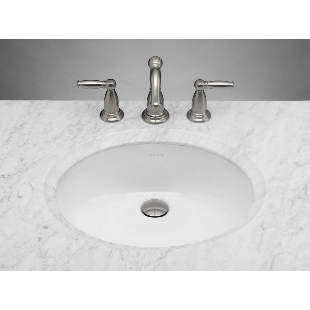 Ronbow Undermount Bathroom Sinks item 200513-WH