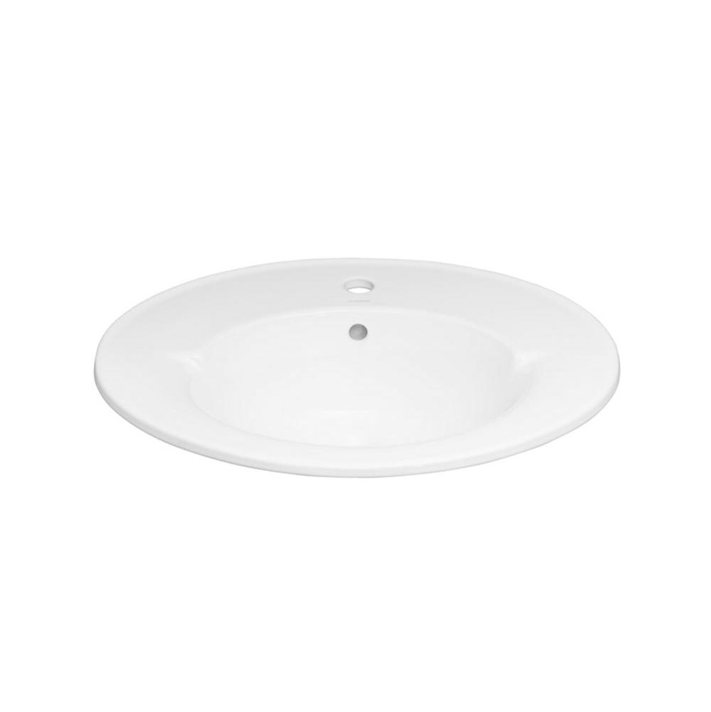 Ronbow Drop In Bathroom Sinks item 218023-1-WH