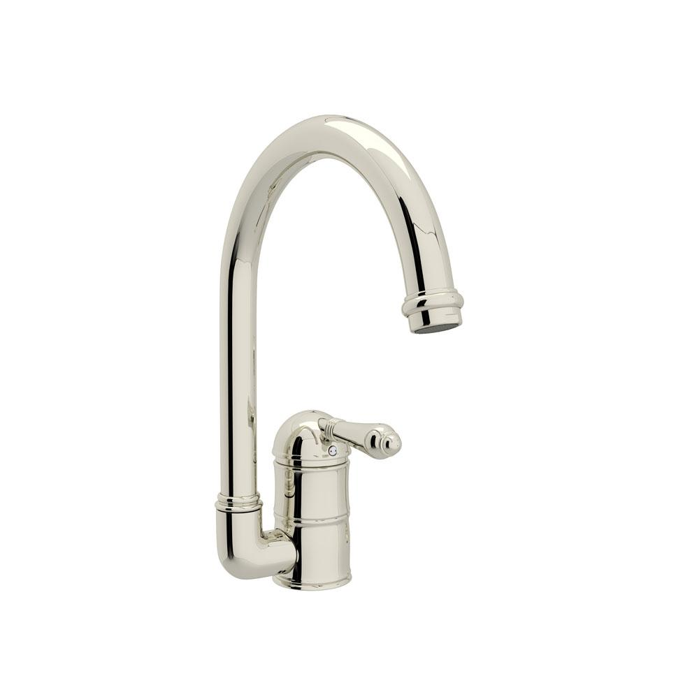 Rohl Single Hole Kitchen Faucets item A3606LMPN-2