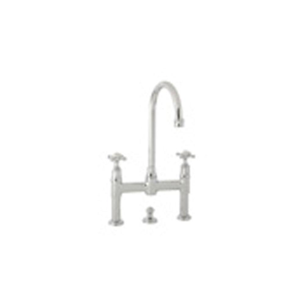 Rohl Bridge Bathroom Sink Faucets item U.3709X-EB-2