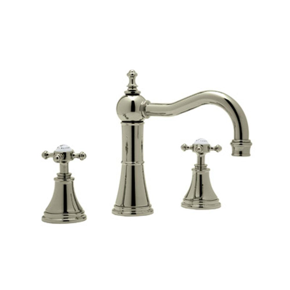 Rohl Widespread Bathroom Sink Faucets item U.3724X-STN-2