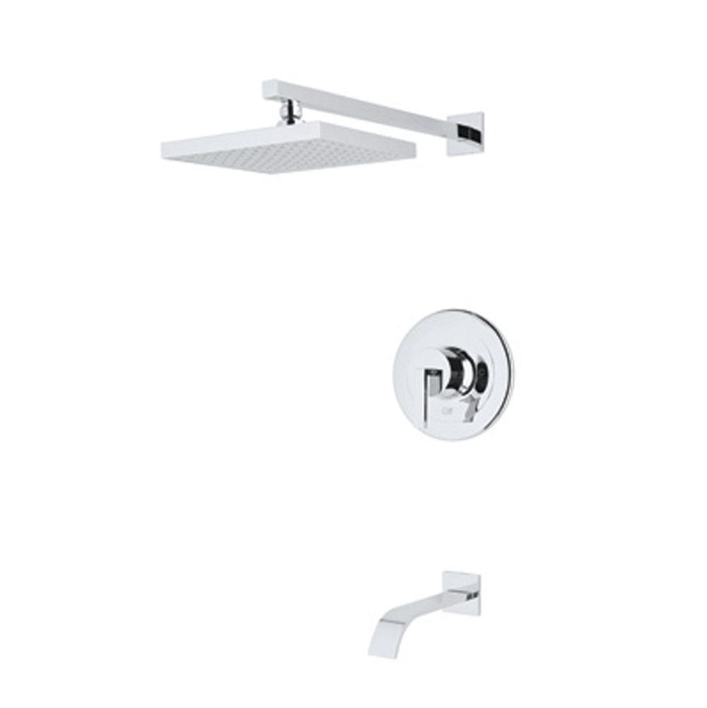 Rohl  Tub And Shower Faucets item WAVEKIT31L-APC
