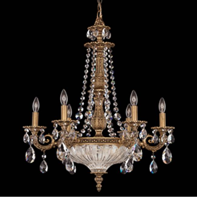 Schonbek Single Tier Chandeliers item 5691-83GS