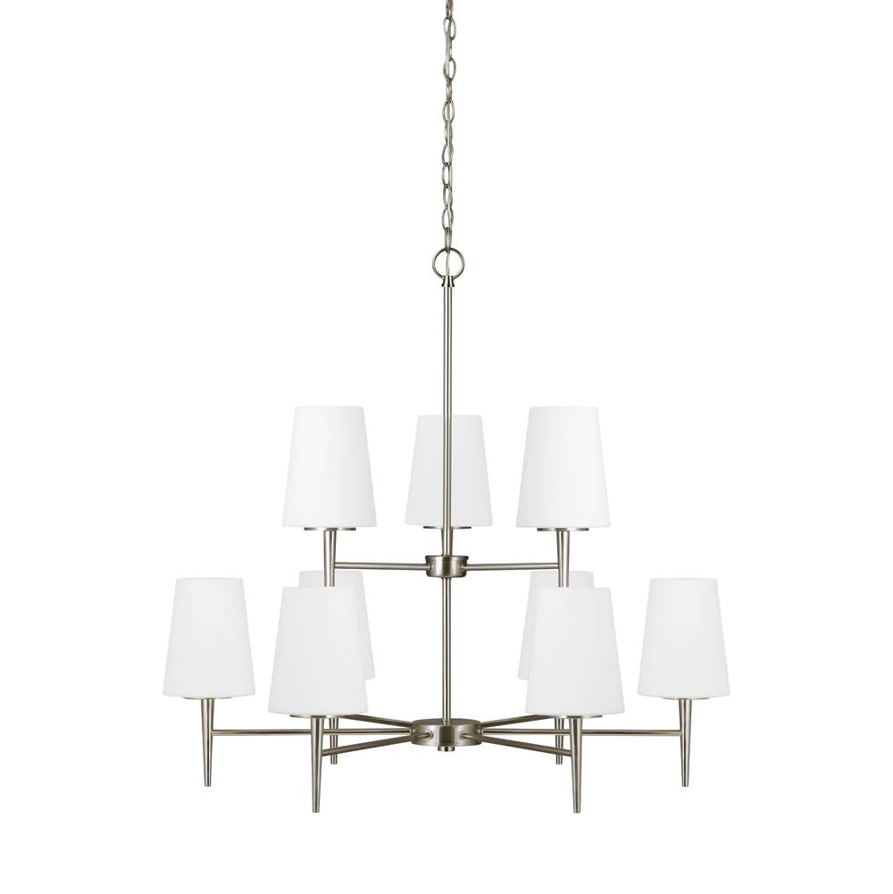 Sea Gull Lighting Multi Tier Chandeliers item 3140409-962