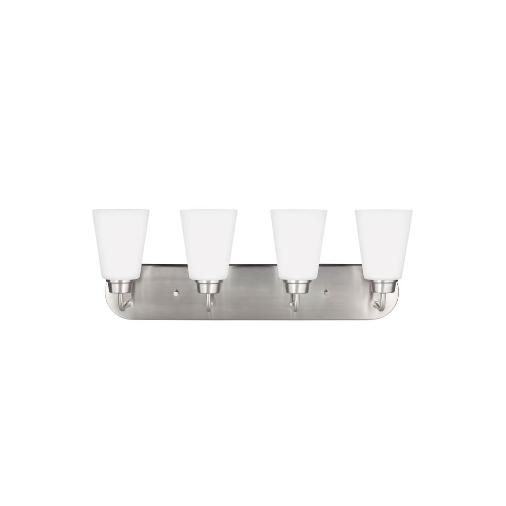 Sea Gull Lighting Four Light Vanity Bathroom Lights item 4415204-962