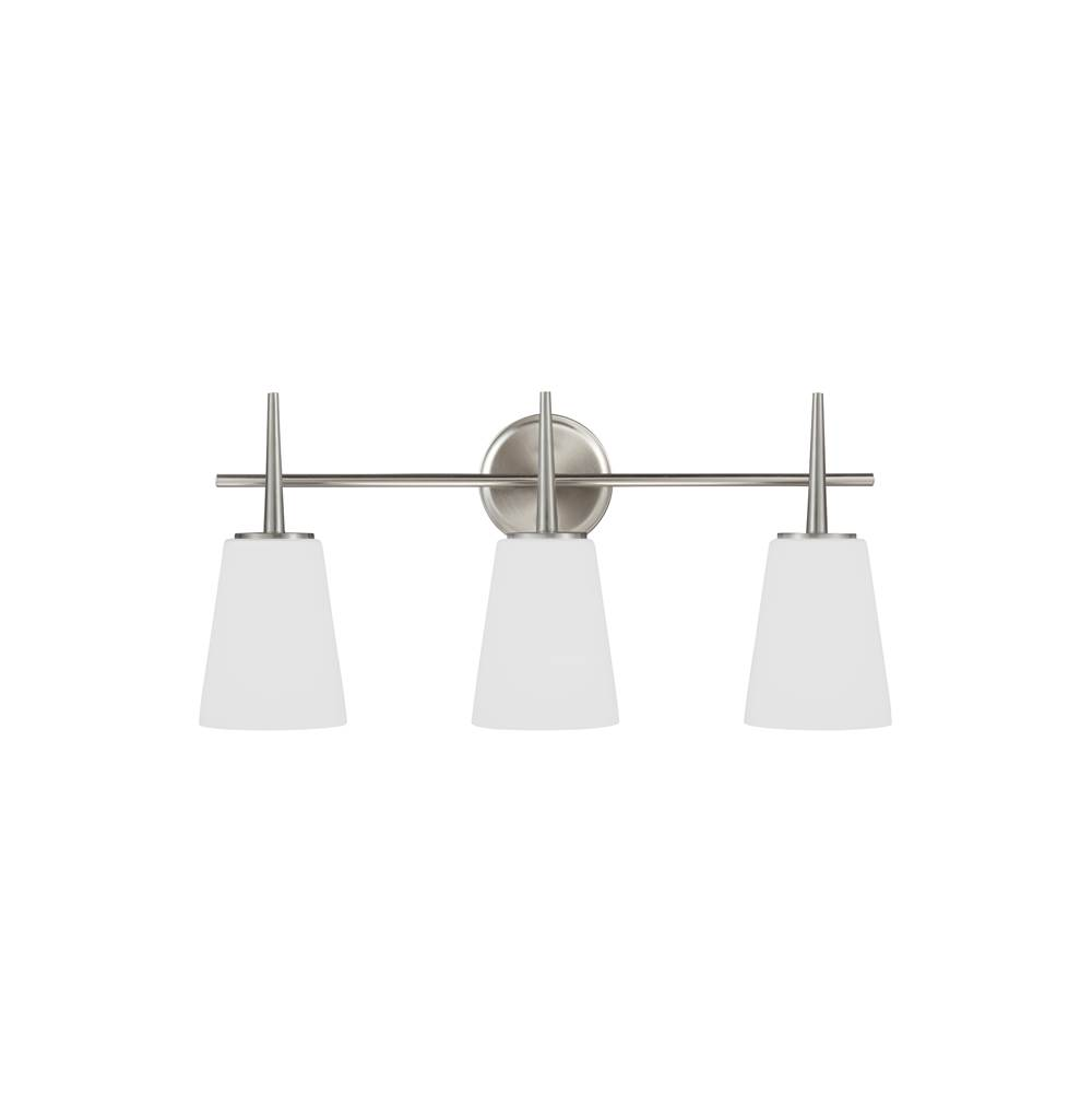Sea Gull Lighting Three Light Vanity Bathroom Lights item 4440403-962