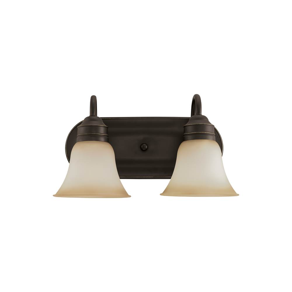 Sea Gull Lighting Two Light Vanity Bathroom Lights item 44851-782