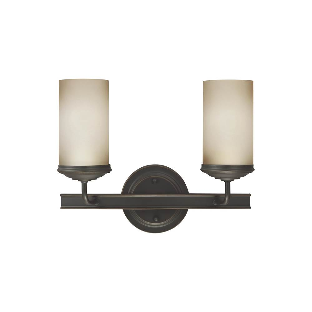 Sea Gull Lighting Two Light Vanity Bathroom Lights item 4491402-715
