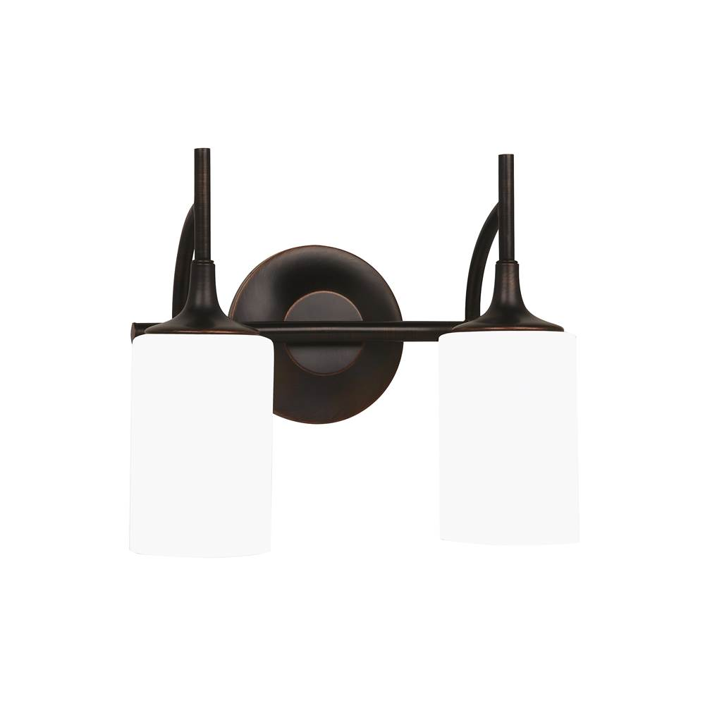 Sea Gull Lighting Two Light Vanity Bathroom Lights item 44953-710
