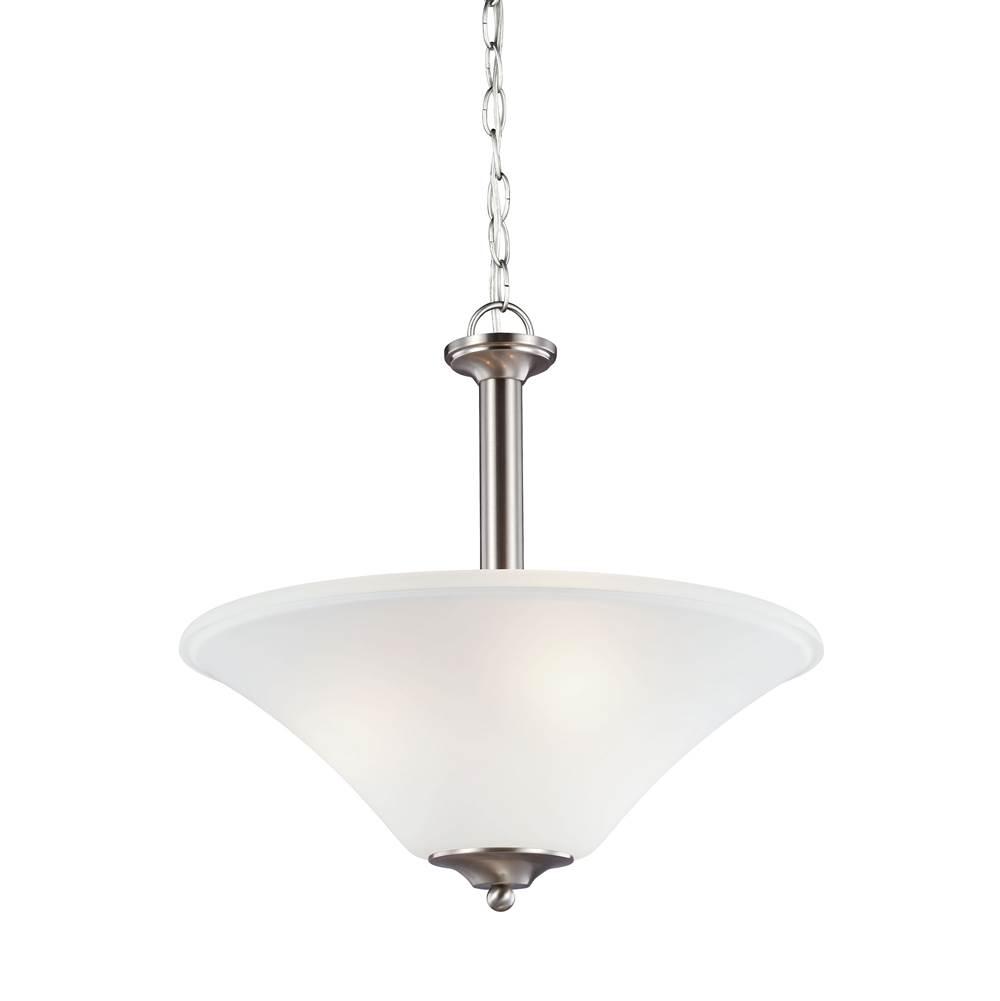 Sea gull lighting pendant lighting uplight pendants kitchens and 14800 66808 962 brand sea gull lighting three light pendant aloadofball Choice Image