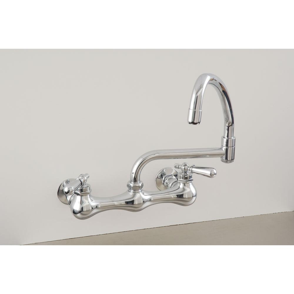 Sign Of The Crab Wall Mount Kitchen Faucets item P0830C