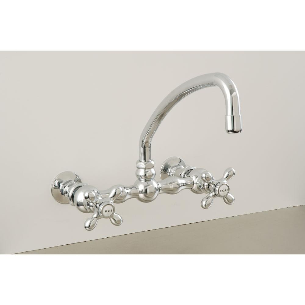 Sign Of The Crab Wall Mount Kitchen Faucets item P0836C