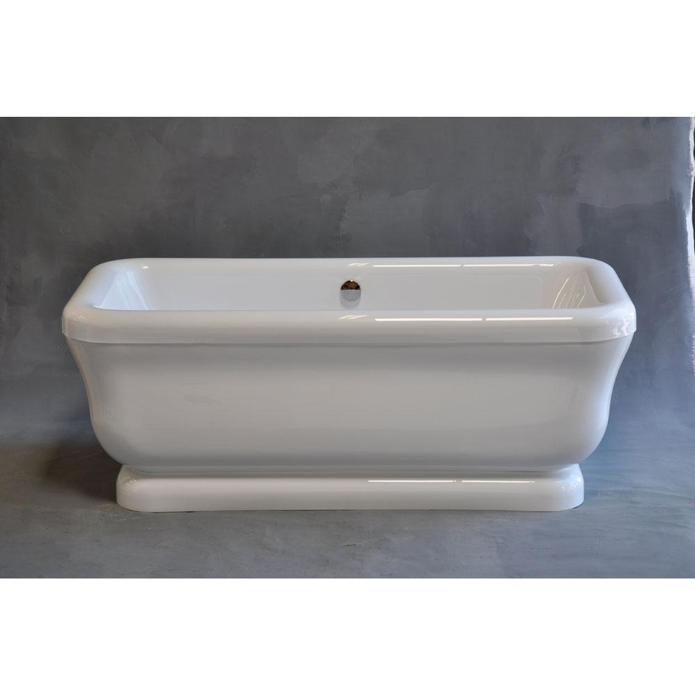 Soaking tubs free standing chromes kitchens and baths by for Free standing soaking tub