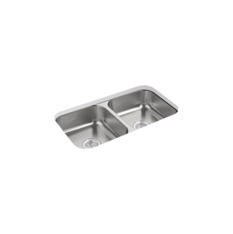 Sterling Plumbing Undermount Kitchen Sinks item 24765-NA