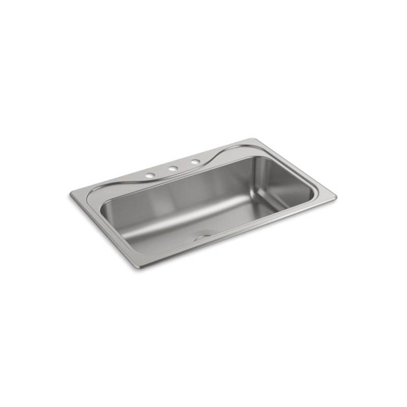 Sterling Plumbing Drop In Kitchen Sinks item 24912-3-NA