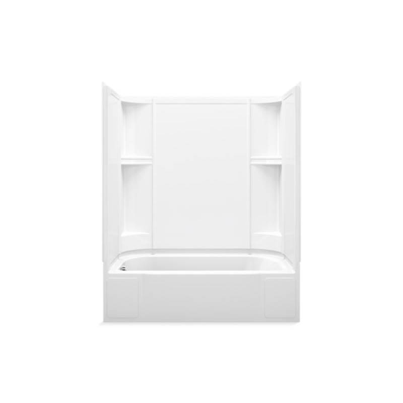 Sterling Plumbing Three Wall Alcove Whirlpool Bathtubs item 76240110-0