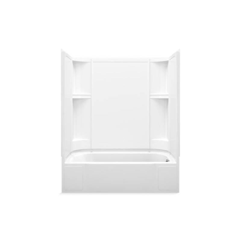 Sterling Plumbing Three Wall Alcove Whirlpool Bathtubs item 76240120-0