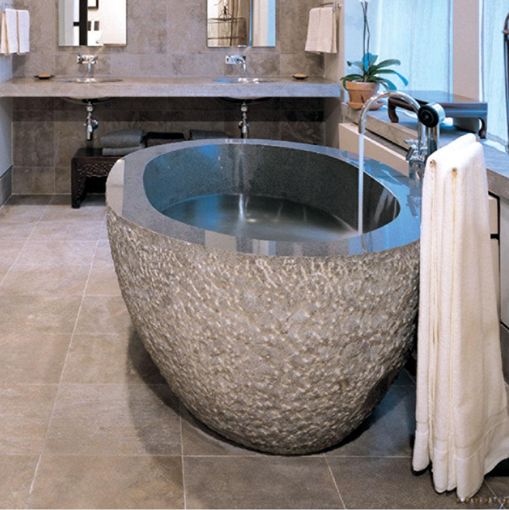 Stone Forest Free Standing Soaking Tubs item C40-72  BG